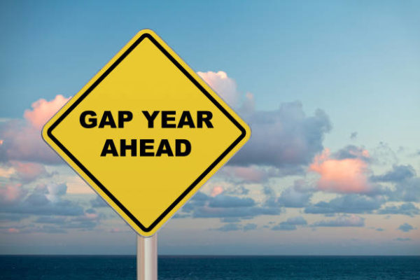 Gap year becoming more popular with students